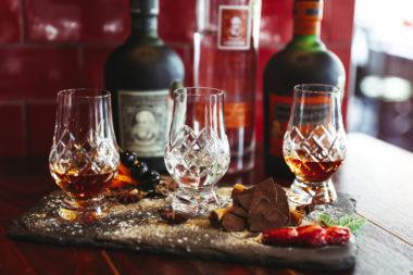 Rum Tasting Plates